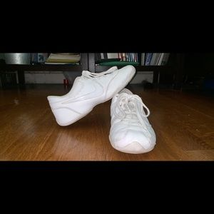 White Nike Cheerleading Shoes